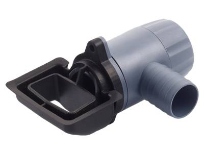 Rain Collector Speedy fit Quattro water butt diverter for rectangular and square downpipes