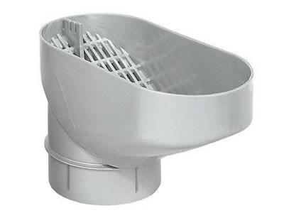 Water butt downpipe leaf catcher/leaf separator